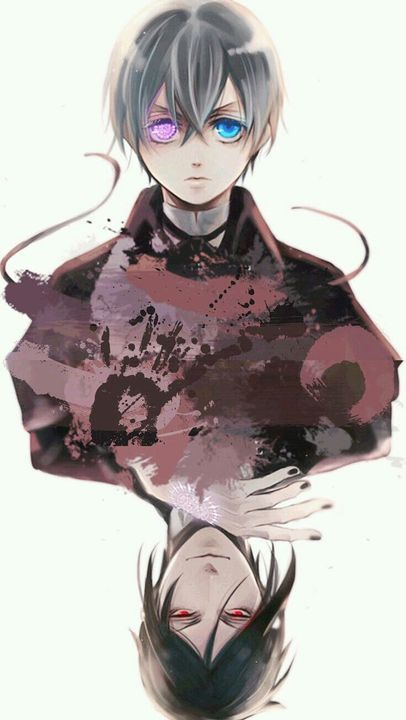 Красивые картинки и арты аниме парня с повязкой на глазу (9)