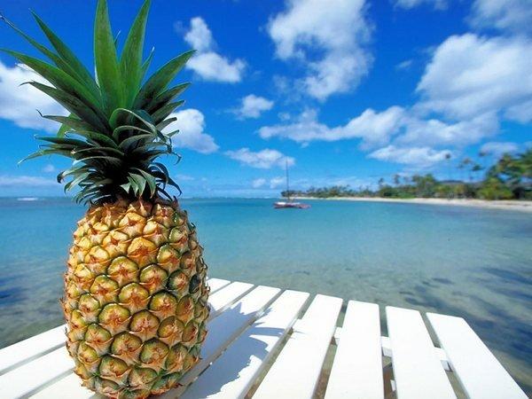 Красивые картинки на День свежего ананаса 16 февраля (2)