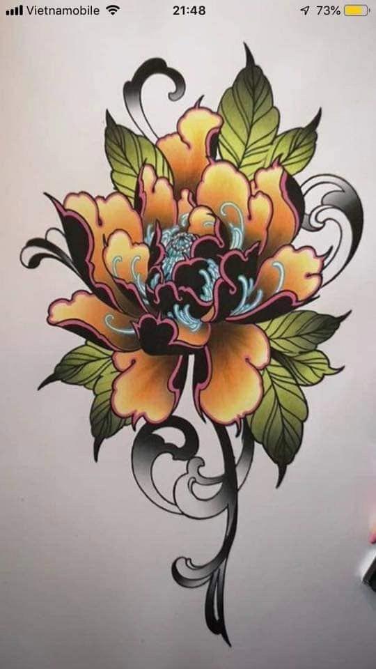 Красивые рисунки цветов для срисовки в свой дневник - 40 лучших идей (22)
