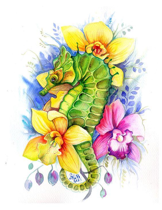 Красивые рисунки цветов для срисовки в свой дневник - 40 лучших идей (38)