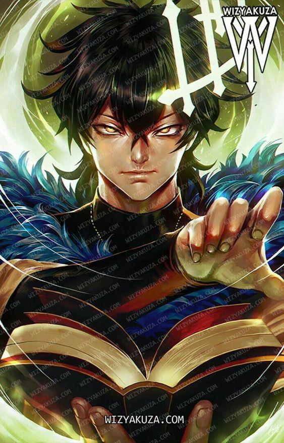 Юно из аниме Чёрный клевер - красивые арты и картинки (4)