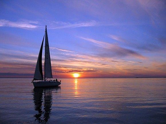 Яхта на море красивые картинки и обои в лучшем качестве (12)