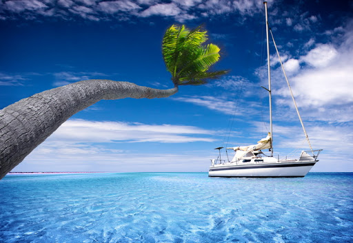 Яхта на море красивые картинки и обои в лучшем качестве (14)