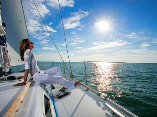 Яхта на море красивые картинки и обои в лучшем качестве (15)