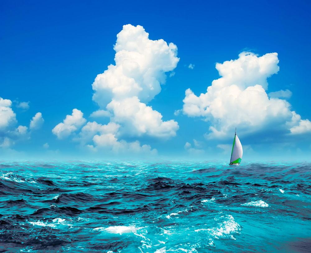 Яхта на море красивые картинки и обои в лучшем качестве (17)