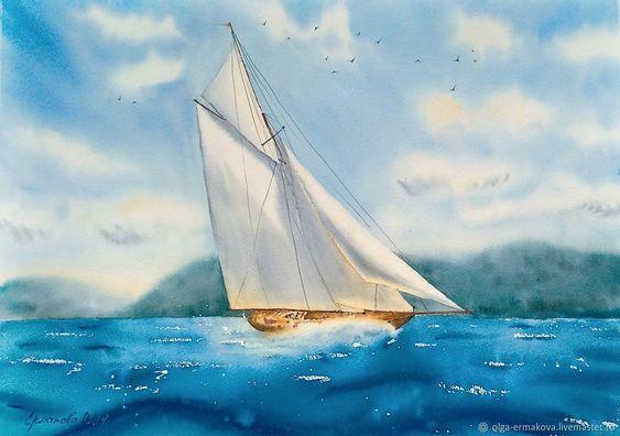 Яхта на море красивые картинки и обои в лучшем качестве (3)