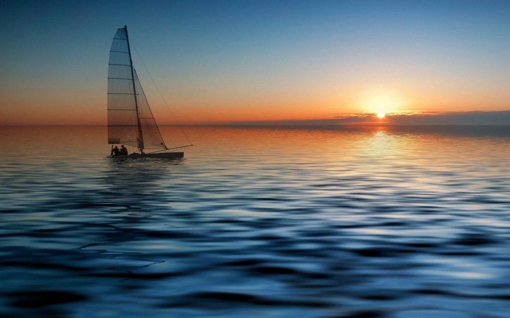 Яхта на море красивые картинки и обои в лучшем качестве (5)