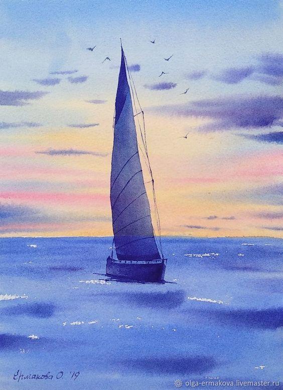 Яхта на море красивые картинки и обои в лучшем качестве (6)