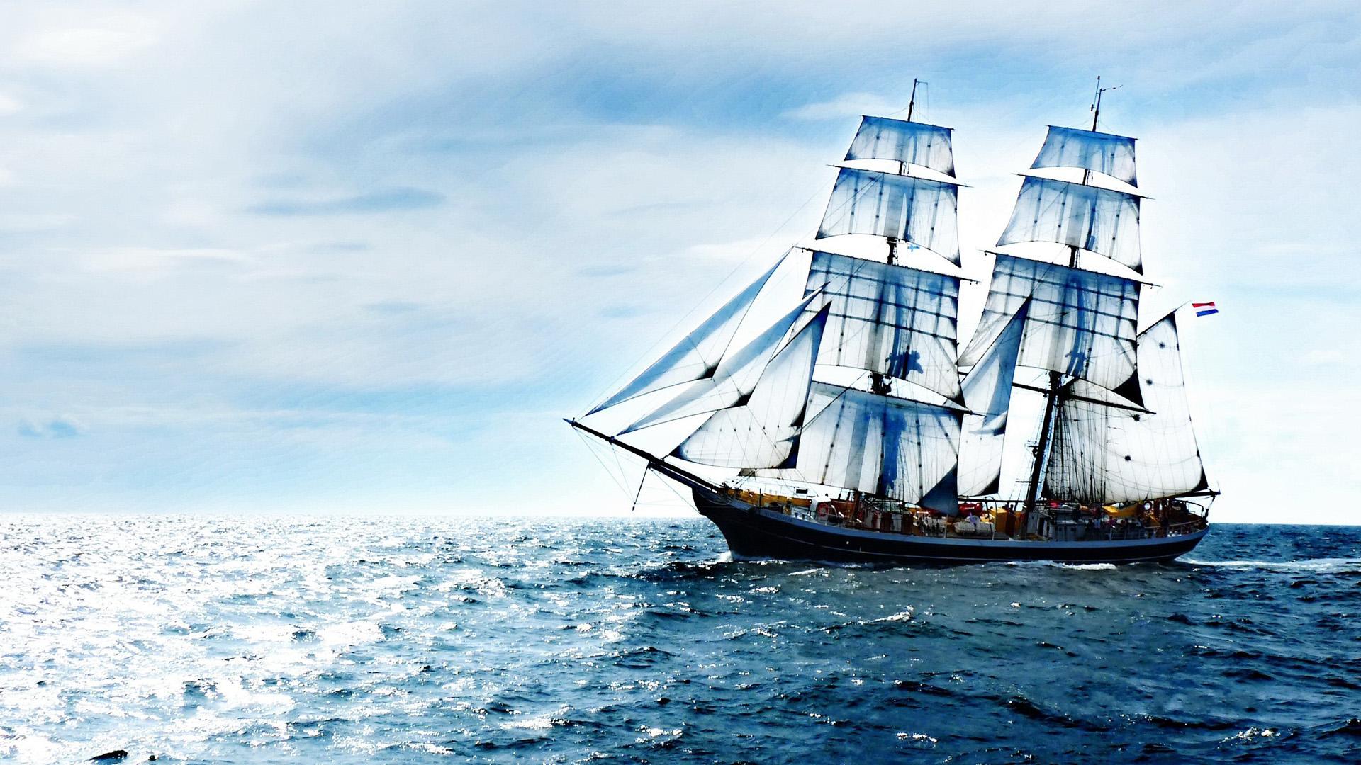 Яхта на море красивые картинки и обои в лучшем качестве (8)