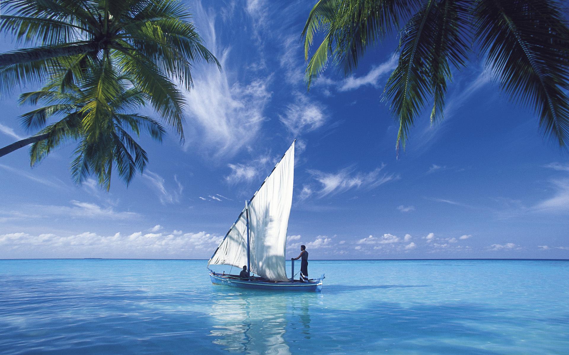 Яхта на море красивые картинки и обои в лучшем качестве (9)