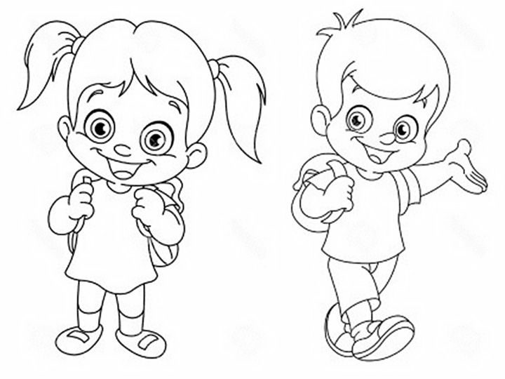 Идеи рисунки для детей 1 класса - большая подборка (14)
