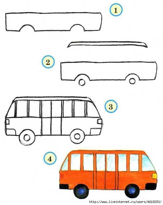 Идеи рисунки для детей 1 класса - большая подборка (9)
