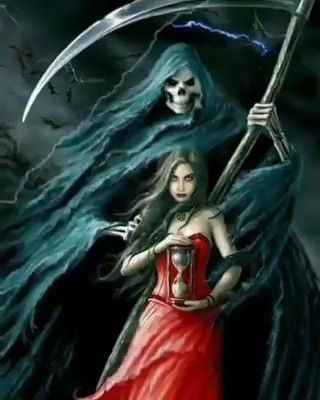 Красивое фото на аватарку черный ангел (13)