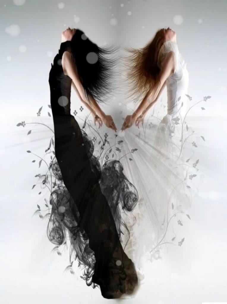 Красивое фото на аватарку черный ангел (4)