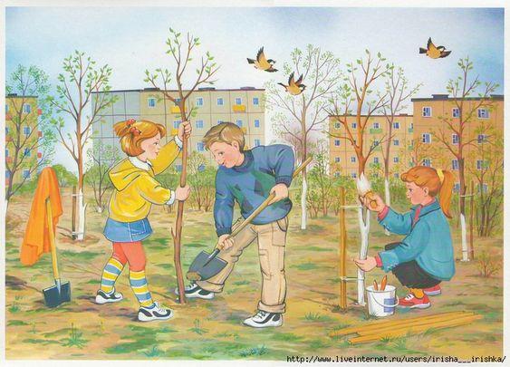 Красивые картинки с весной для детей (11)