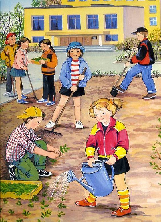 Красивые картинки с весной для детей (12)