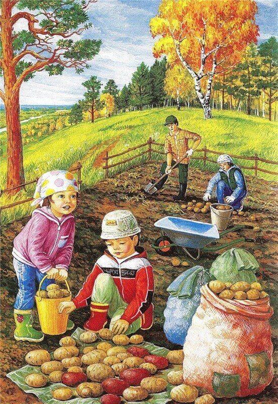 Красивые картинки с весной для детей (4)