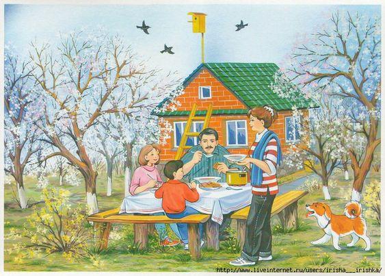 Красивые картинки с весной для детей (6)
