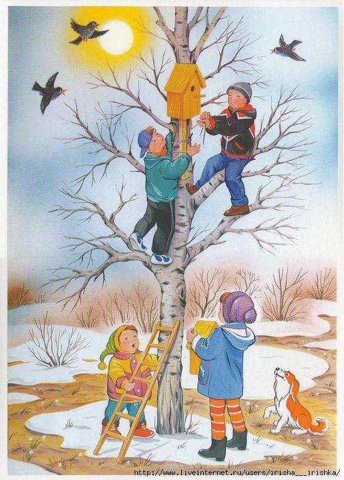 Красивые картинки с весной для детей (7)