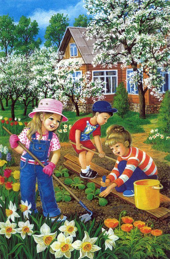 Красивые картинки с весной для детей (9)
