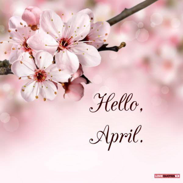 Красивые картинки с добрым утром апреля - подборка (10)