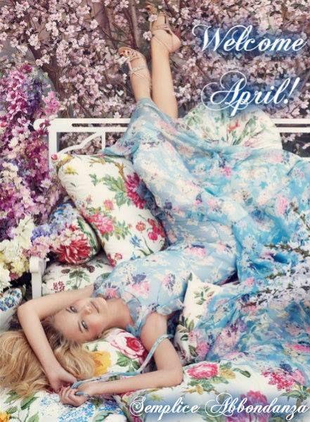 Красивые картинки с добрым утром апреля - подборка (15)