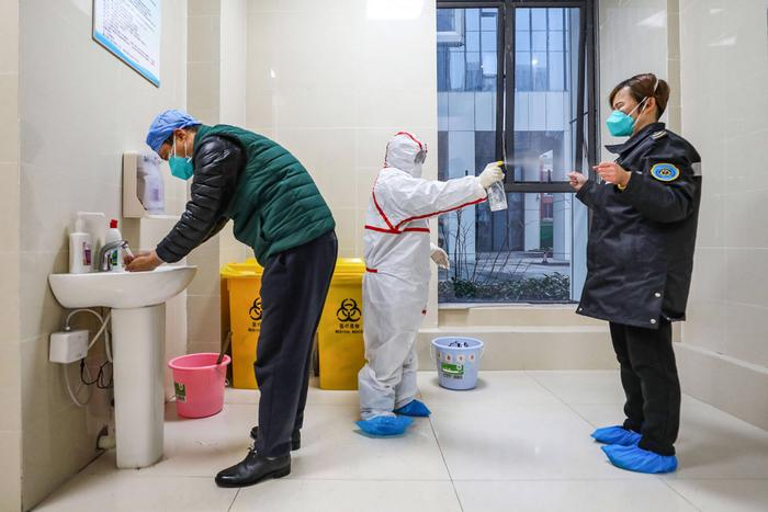 Фото короновируса в Китае, свежие фотографии - подборка 2020 (13)