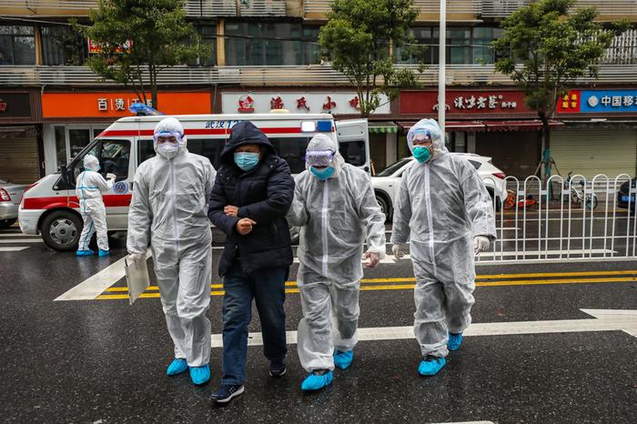 Фото короновируса в Китае, свежие фотографии - подборка 2020 (14)