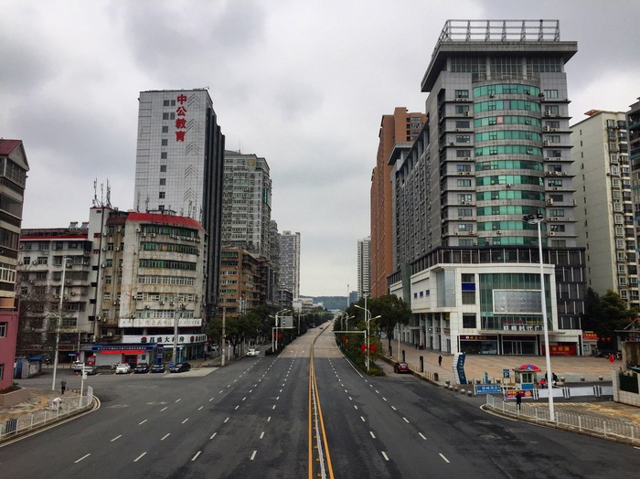Фото короновируса в Китае, свежие фотографии - подборка 2020 (25)