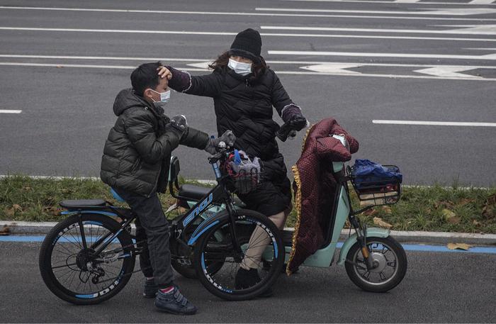 Фото короновируса в Китае, свежие фотографии - подборка 2020 (5)