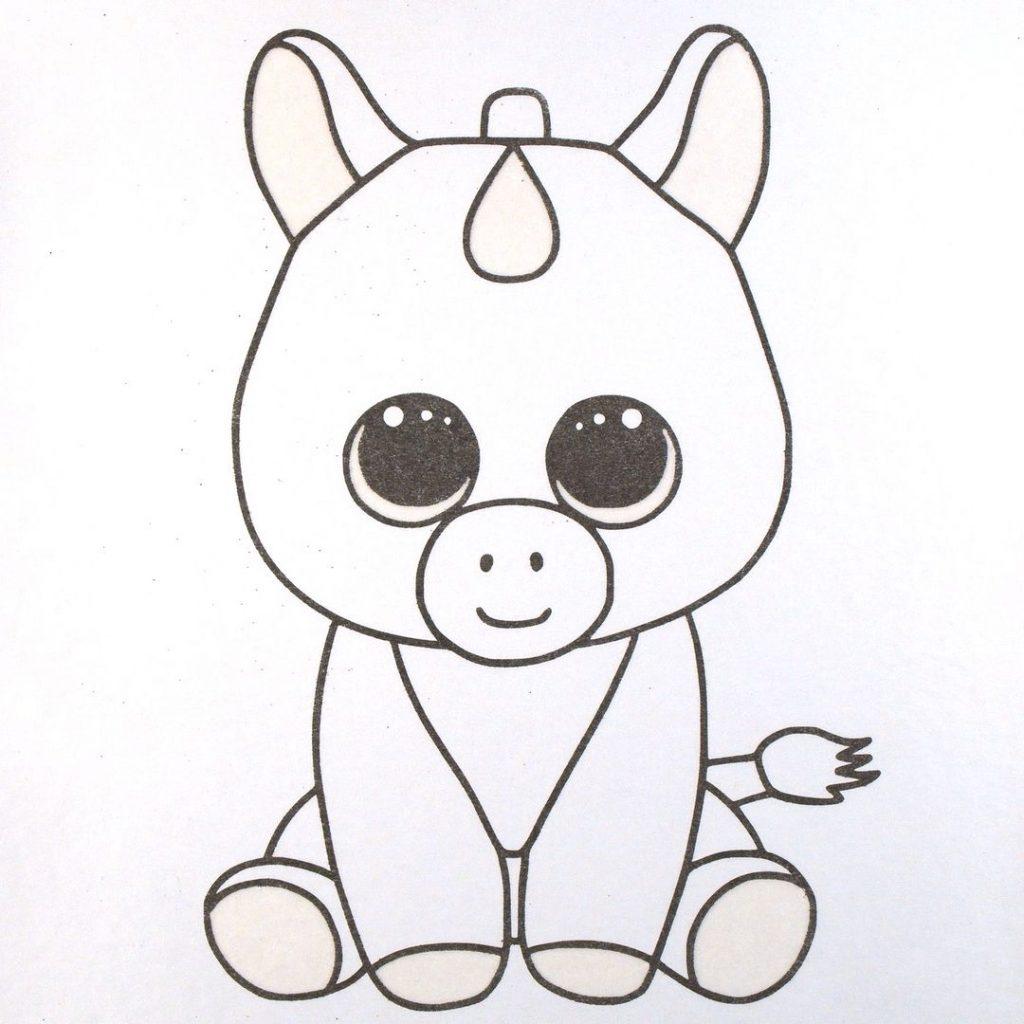 Аниме животные для срисовки - большая подборка (33)