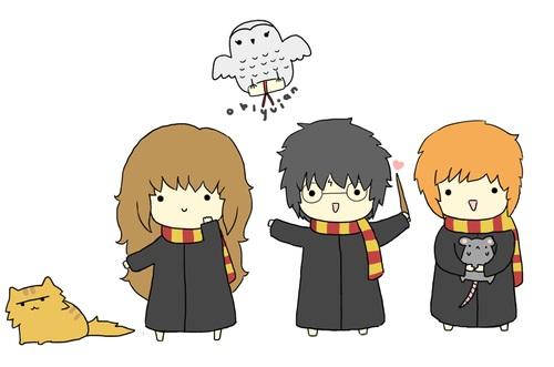Гарри Поттер по клеточкам - красивые рисунки (14)