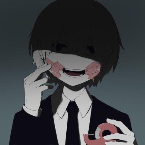 Грустные черно белые картинки аниме (18)