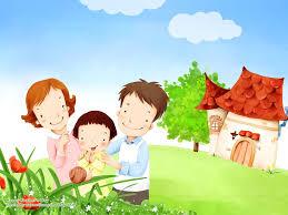 Детские картинки на тему дети и родители (14)