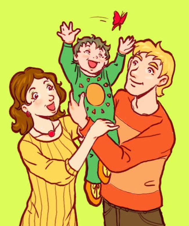 Детские картинки на тему дети и родители (16)
