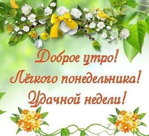 Доброго утра понедельника и удачной недели (1)