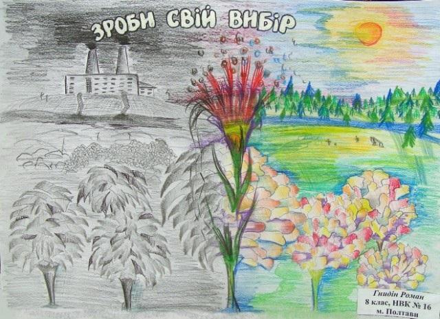 Знак не забруднюй повітря малюнок (4)