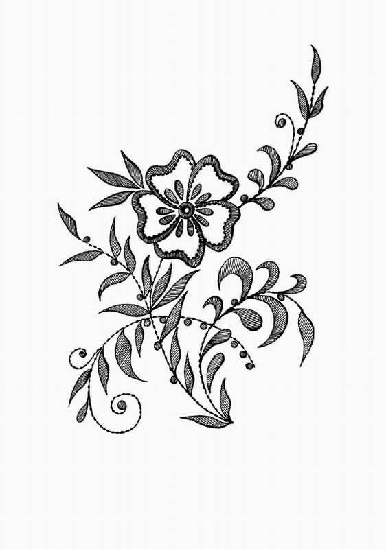Как нарисовать красивые цветы фотоподборка (17)