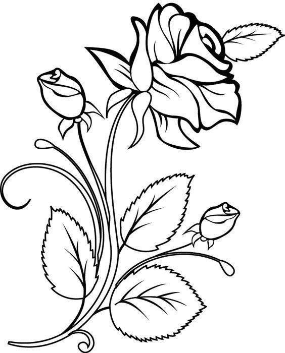 Как нарисовать красивые цветы фотоподборка (2)