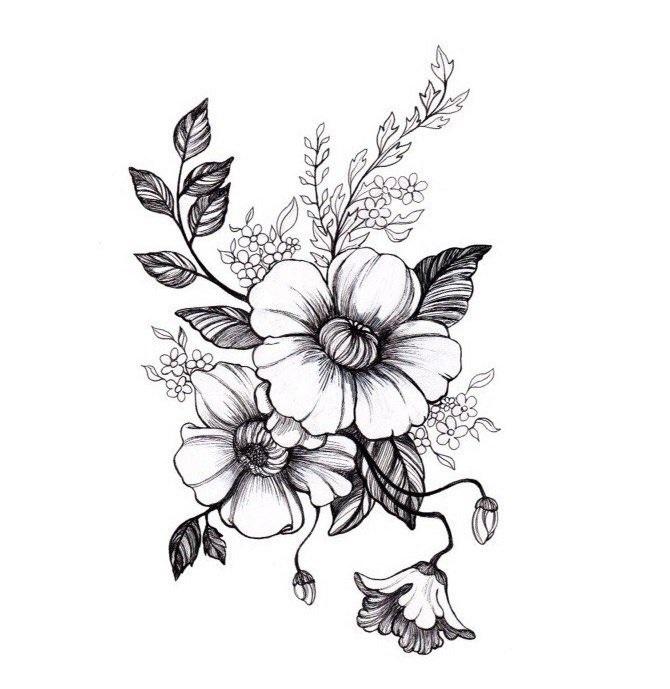 Как нарисовать красивые цветы фотоподборка (22)