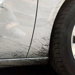 Как удалить битум и смолу с поверхности автомобиля