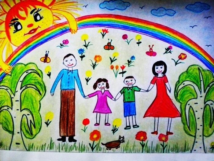Картинка моя семья для презентации (17)