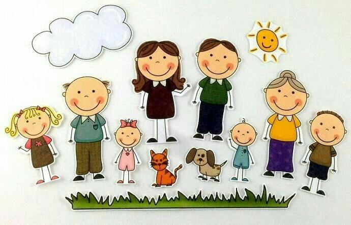 Картинка моя семья для презентации (6)