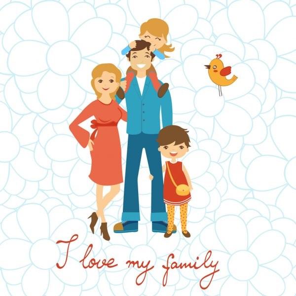 Картинка моя семья для презентации (8)