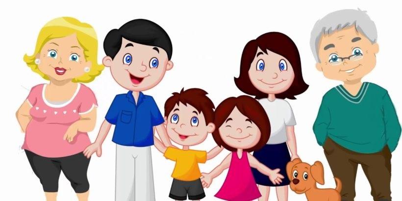 Картинка моя семья для презентации (9)