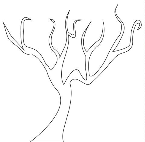 Картинка ствол дерева для детей (14)