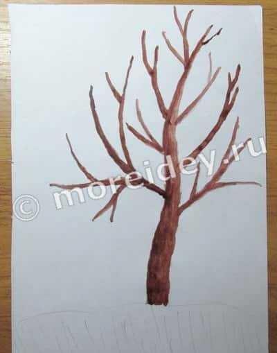 Картинка ствол дерева для детей (15)
