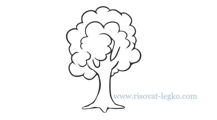 Картинка ствол дерева для детей (16)