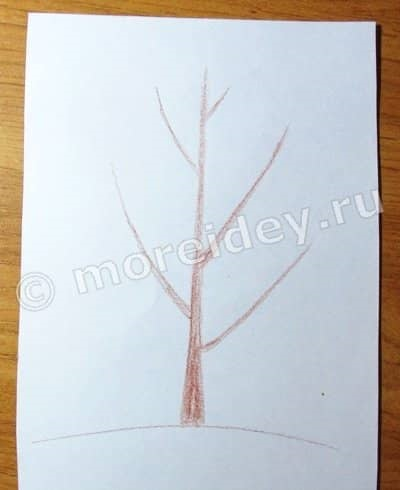 Картинка ствол дерева для детей (19)