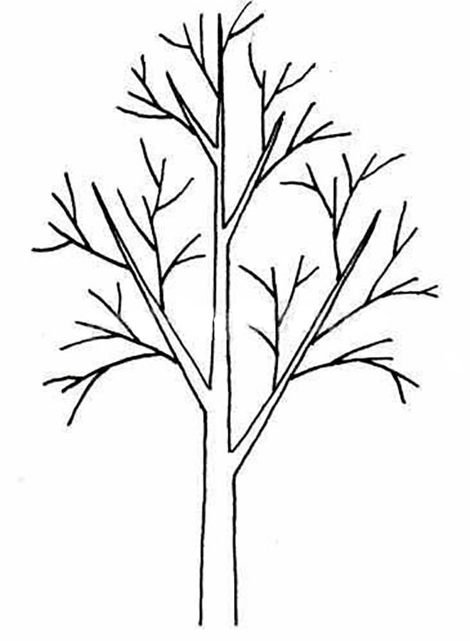 Картинка ствол дерева для детей (23)